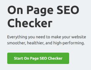 on page seo checker